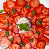 Süßes Minz-Pesto - zu Erdbeeren ein Genuss