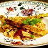 Pasta mit karamellisierten Tomaten und Spargel-Piccata