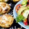 Räucherlachs-Muffins, besonders würzig und schnell gemacht