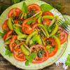 Tomaten-Kiwi-Salat mit frischer Minze