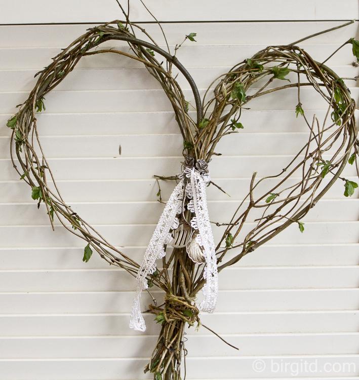 Natürlich dekorieren: Ein Herz für den Frühling2