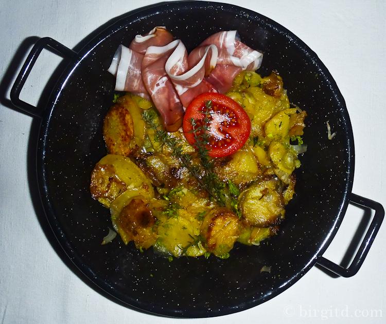 Kartoffel-Fenchel-Pfanne