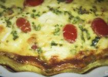 Kräuter-Tomaten-Quiche