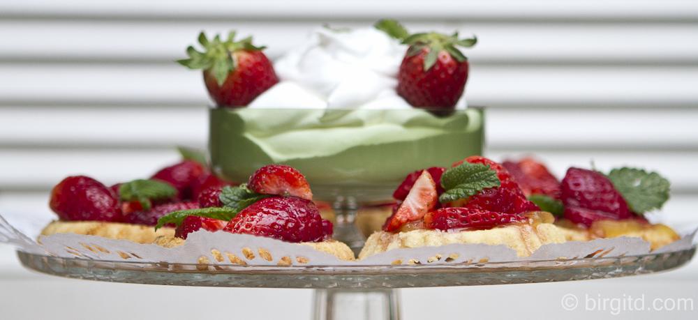 Erdbeer-Mürbeteig-Tartelettes – ohne viel Chichi