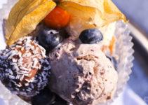 Heidelbeer-Eis