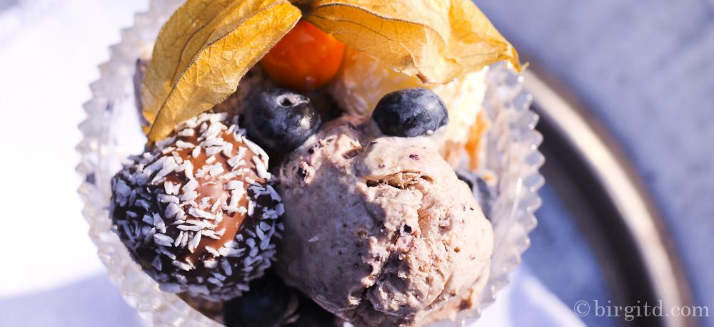 Cool – Heidelbeer-Eis