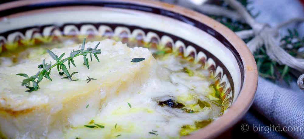 N° 4  ♥  Französische Zwiebelsuppe – Soupe à l'oignon