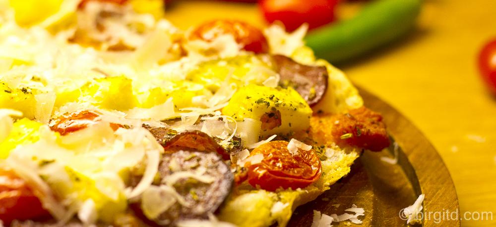Fladenbrot-Pizza – ultraschnell gemacht & lecker