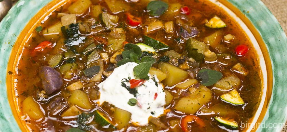 N° 15  ♥ Mediterran-orientalisches Kartoffelgulasch
