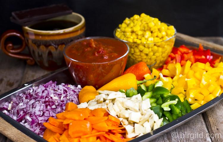 Chili con Carne, Zutaten