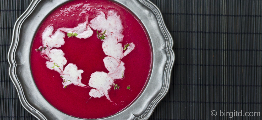 N° 20 ♥ Rote Bete-Suppe – Die Ungewöhnliche