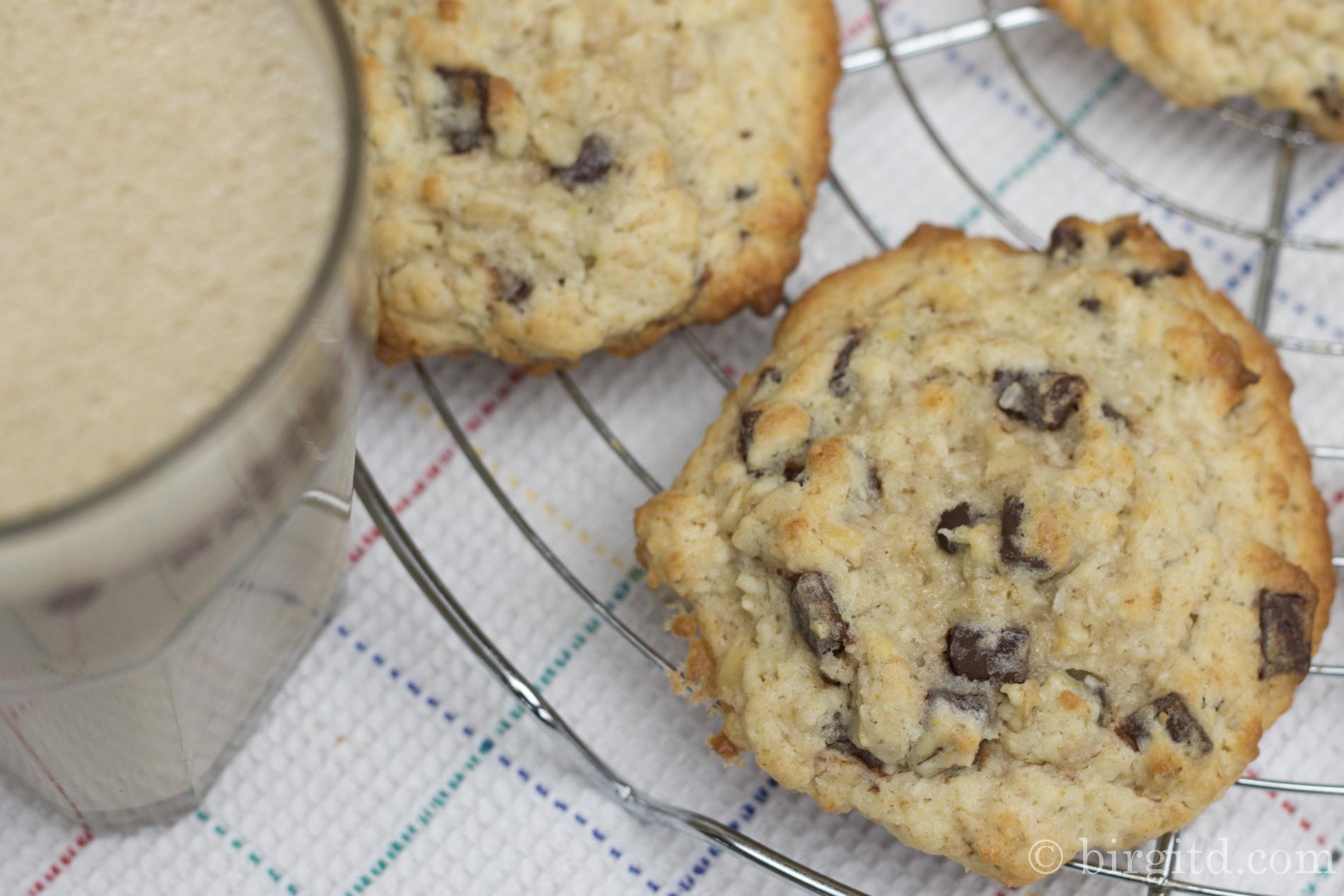 Bananen-Kokos-Cookies