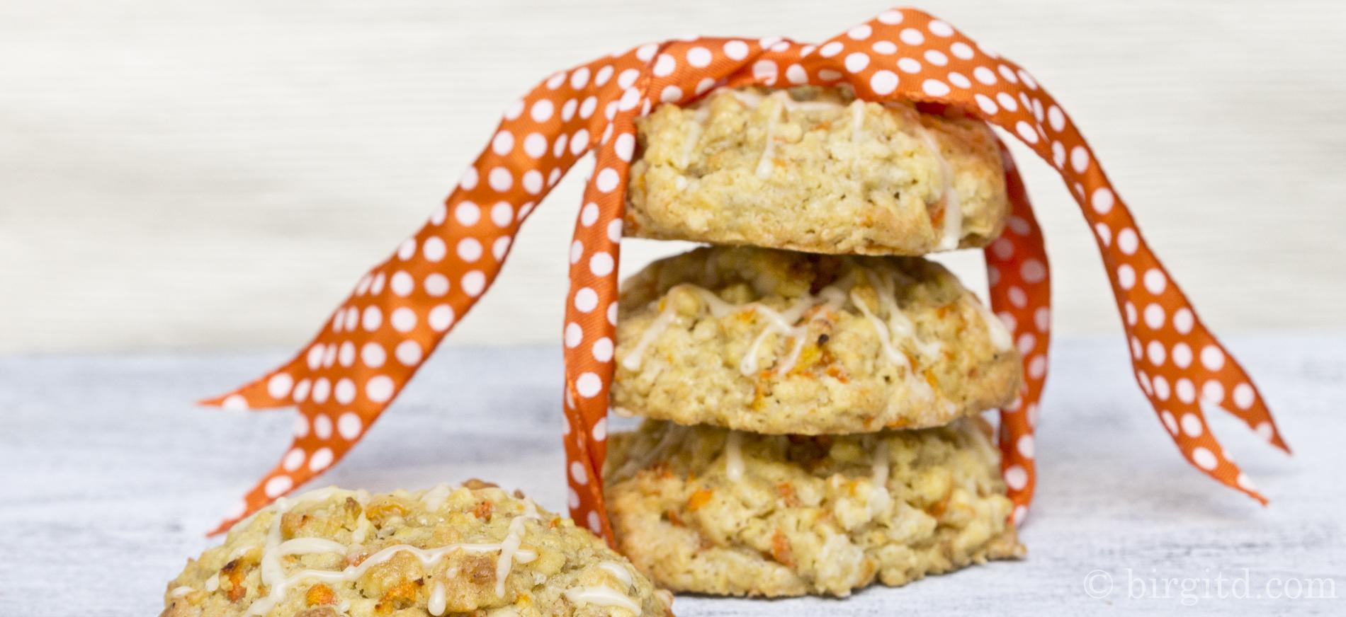 Cookies mit Möhren, Mandeln & Haferflocken – der Hit für Bunnies ♥