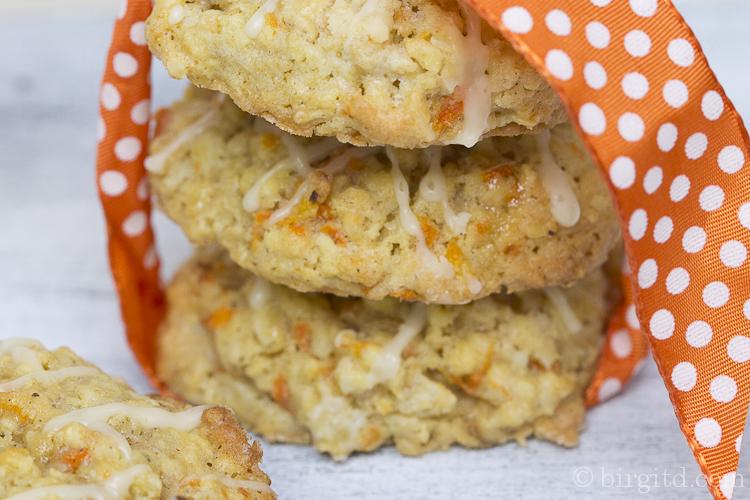 Cookies mit Möhren zum Osterfest
