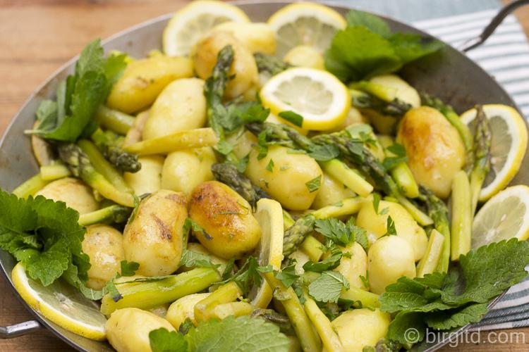 Spargel-Kartoffel-Pfanne
