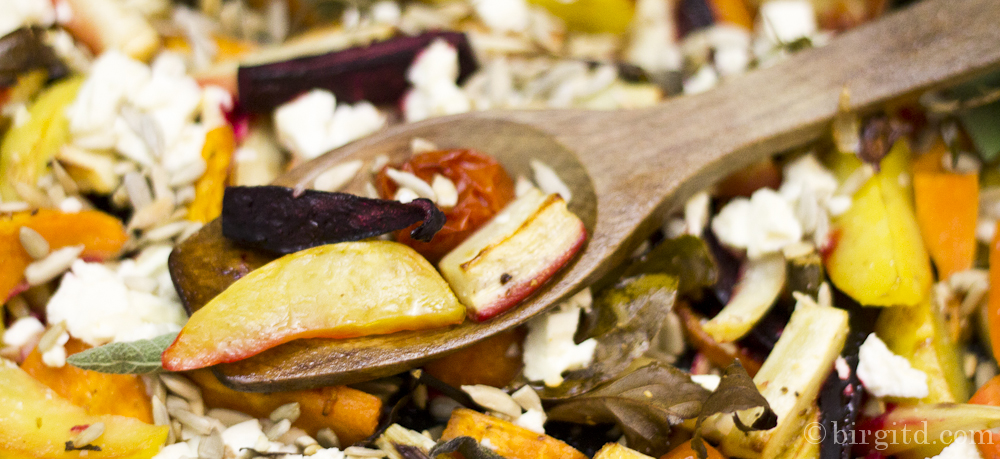 Winterliches Gemüse aus dem Ofen – mediterran gewürzt