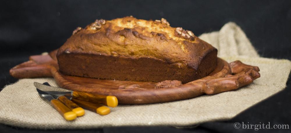 Aromatisches Bananenbrot mit Walnüssen – schnell & lecker