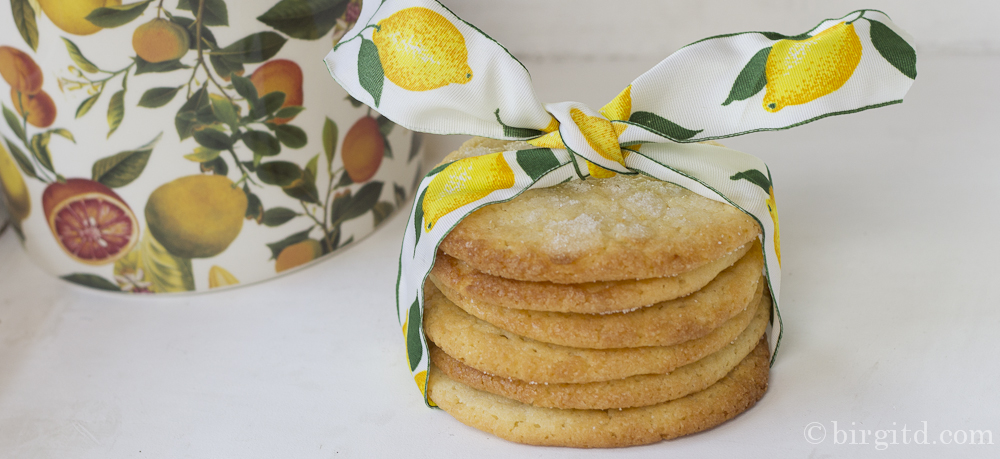 Summer Lemon Cookies – fresh, sweet & chewy