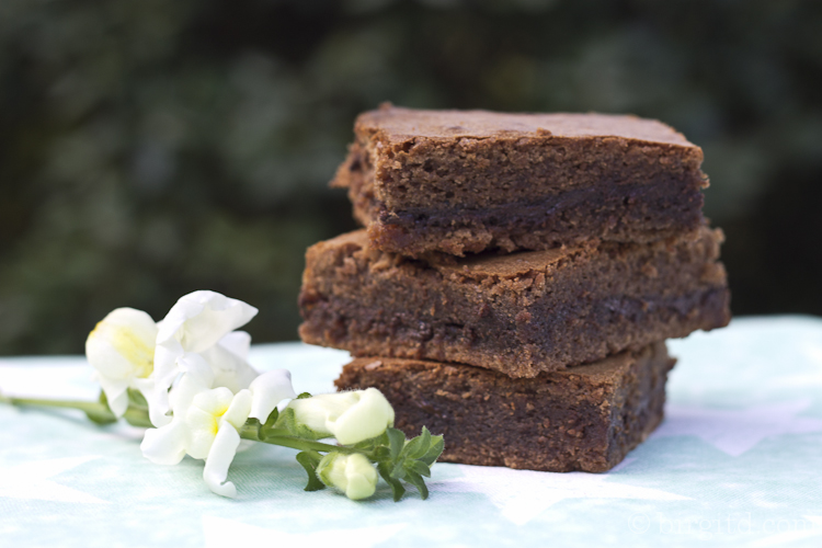 Nougat-Mint Brownies
