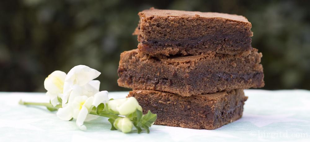 Nougat-Mint Brownies – wer kann da widerstehen?