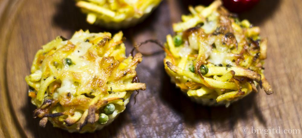 Nudel-Muffins – eine kleine Reste-Zauberei