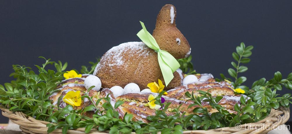 Osterkranzkuchen – eine traditionelle Leckerei mit knuspriger Marzipan-Nussfüllung