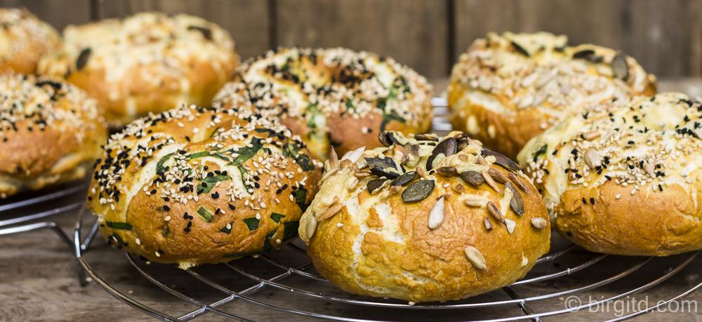 Laugen-Bagels mit Bärlauch, Körnern & viel Geschmack – Brote aus aller Welt