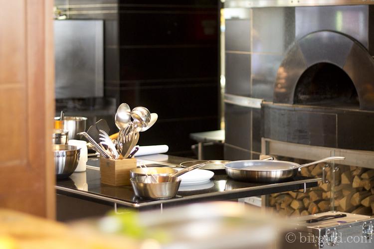 Show-kitchen im Park Hyatt Hotel