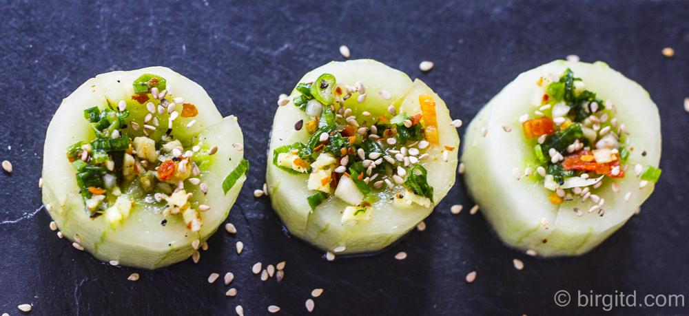 Gurken-Kimchi (Oi Kimchi) – sommerlich, würzig & frisch