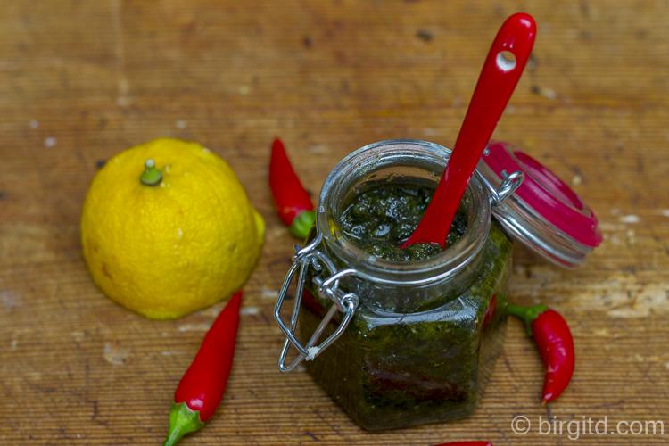 Zitronenmelisse-Pesto