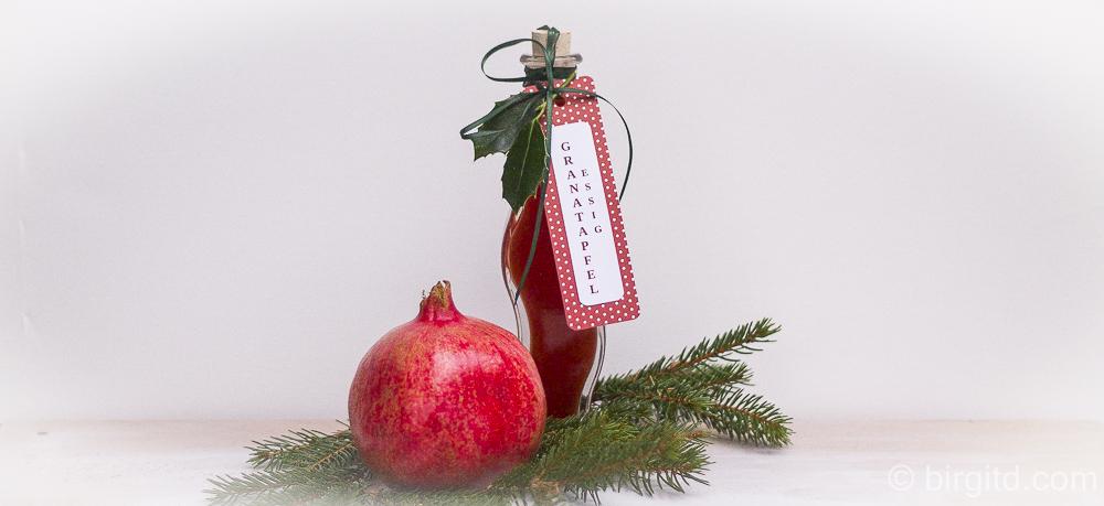 Granatapfel-Essig 🎀 mein Geschenk aus der Küche