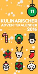 Kulinarischer Adventskalender - 11. Türchen