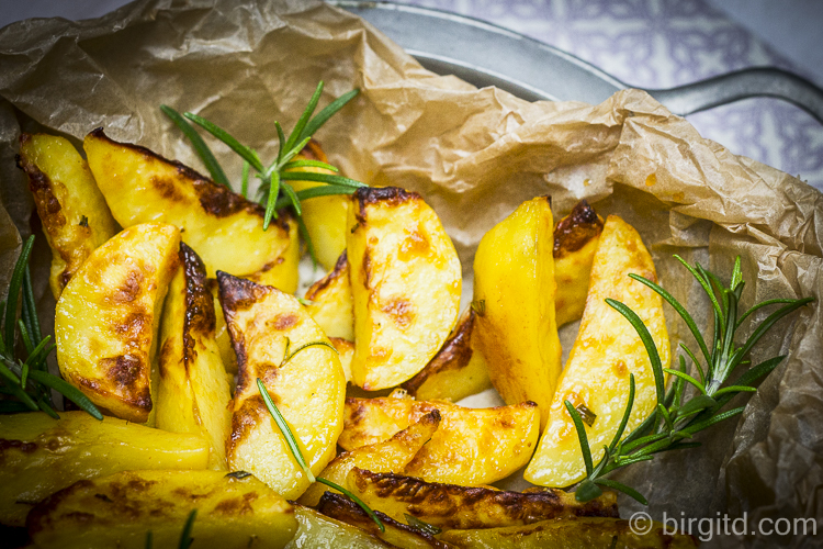 Kartoffelspalten - Potato wedges