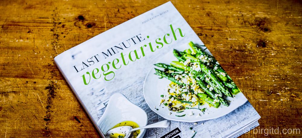 Last Minute Vegetarisch – Kochbuch-Rezension