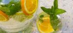 Vitaminwasser mit Holunderblüten