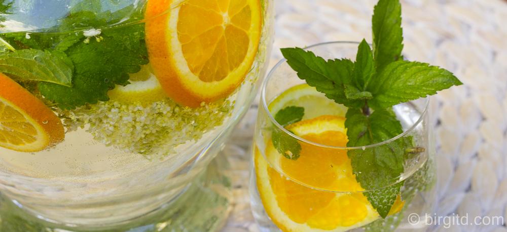 Selbstgemachtes Vitaminwasser – der gesunde Durstlöscher