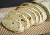 Weizenbrot mit Sauerteig