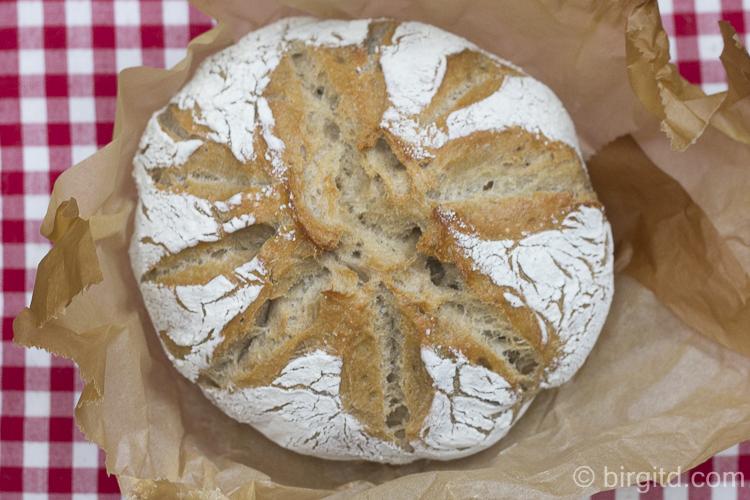 Weizenvollkornbrot (no-knead)