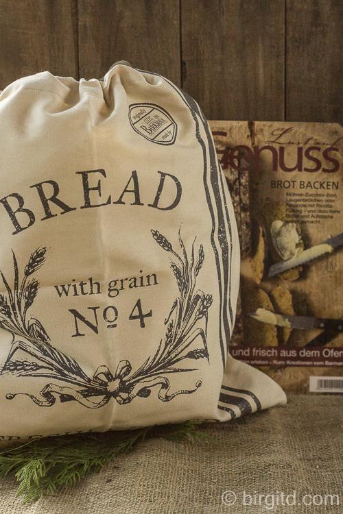 6. Preis - Brot-Aufbewahrungsbeutel und eine Ausgabe Lust auf Genuss - Brot backen