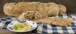 Fladenbrot mit Weizen-Ruchmehl & Kürbis-Hummus