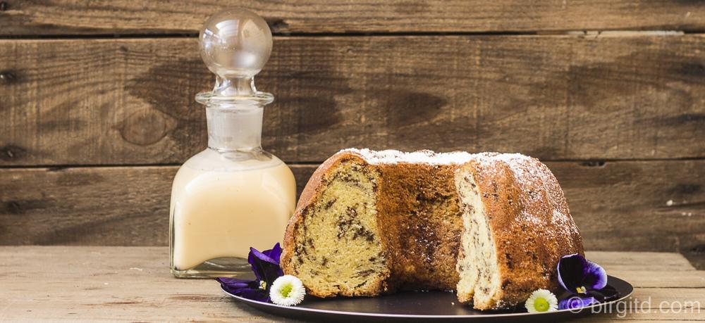 Eierlikörkuchen mit Schokolade – da freut sich nicht nur der Osterhase