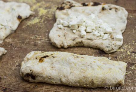 Mediterranes Brot - Teiglinge zubereiten