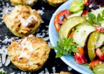 Räucherlachs-Muffins