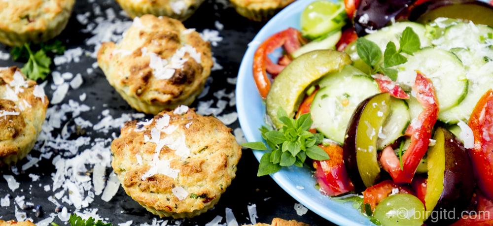 Räucherlachs-Muffins – besonders würzig und schnell gemacht