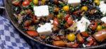 Belugalinsen mit Schafskäse & Kräuter