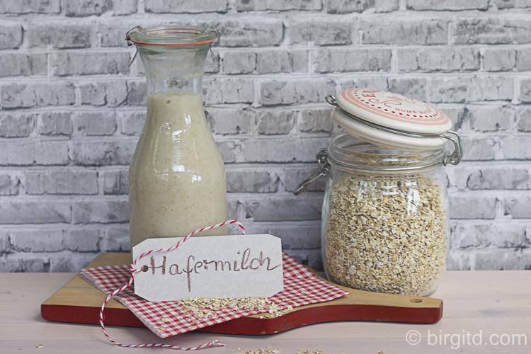 Hafermilch, selbstgemacht