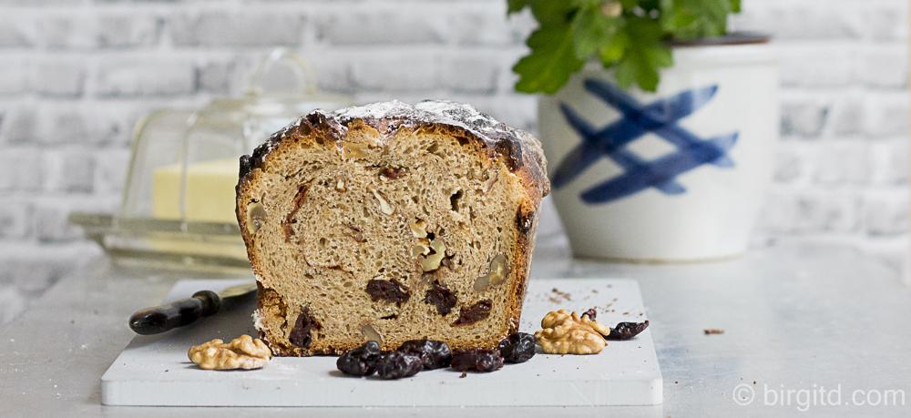 Brote aus aller Welt – Pan integral de canela y pasas aka Spanisches Früchtebrot