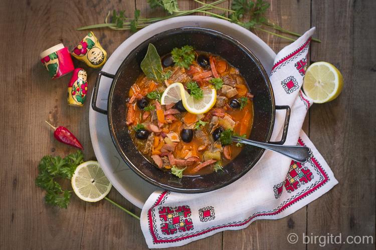Russische Soljanka nach Babuschkas Rezept
