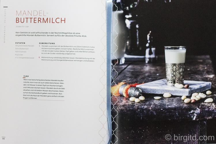 Marrakesch - Mandel-Buttermilch