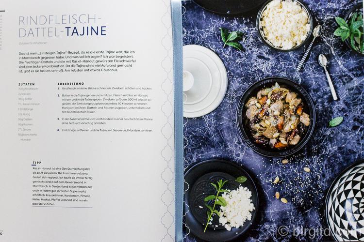Marrakesch - Rindfleisch-Dattel-Tajine